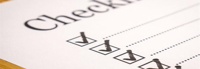 Die Crowdinvesting Checkliste - Immobilienprojete in 5 Schritten überprüfen (Checkliste Bild).