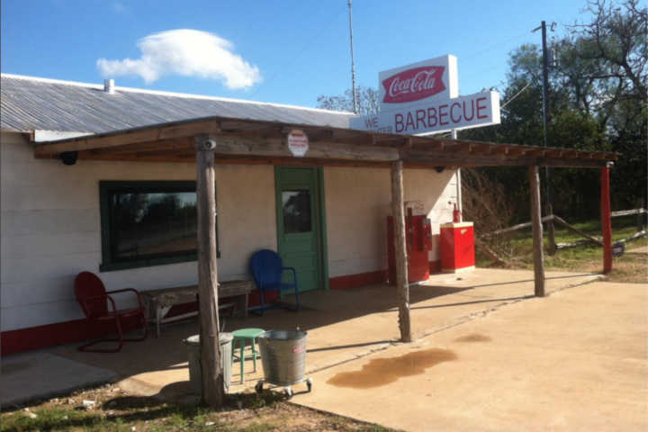 """Die Tankstelle aus """"Texas Chainsaw Massacre"""" ist jetzt ein BBQ-Restaurant."""