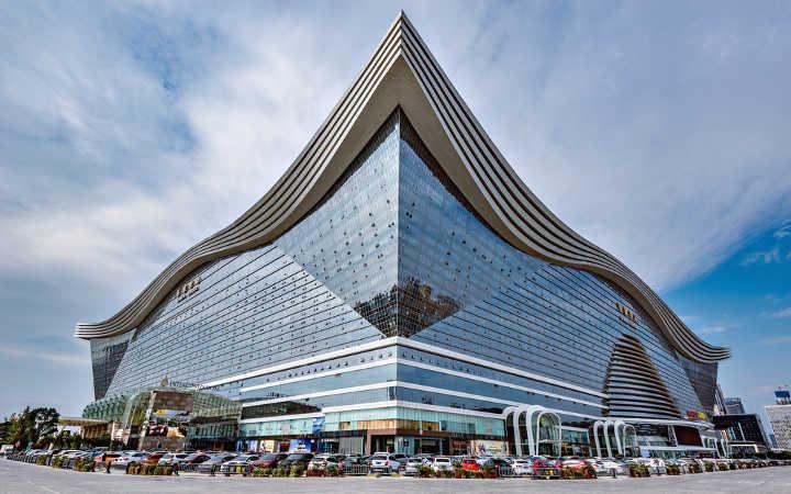 groesste gebaeude New Century Global Centre - Das sind die 7 größten und teuersten Bauprojekte der Welt -